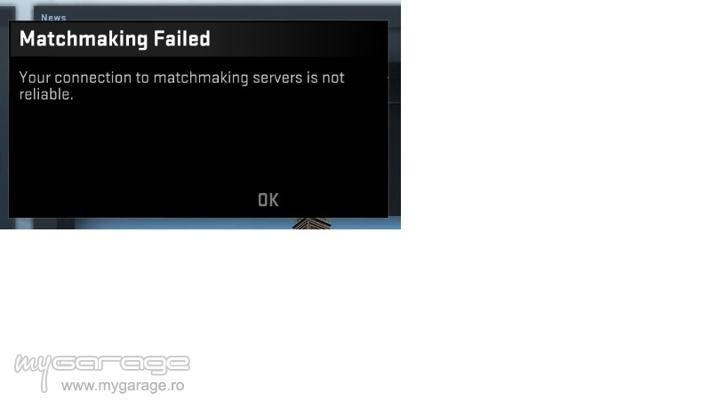 Matchmaking servers not reliable