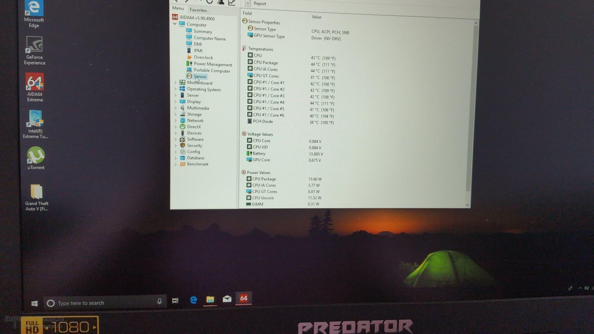 Acer Nitro 5 vs Acer predator helios 300