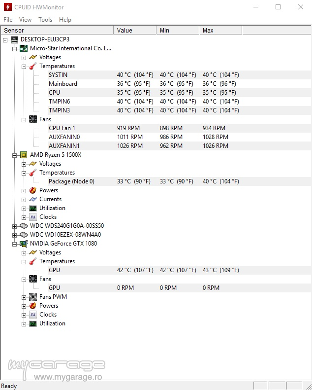 My new gaming PC intense benchmarks