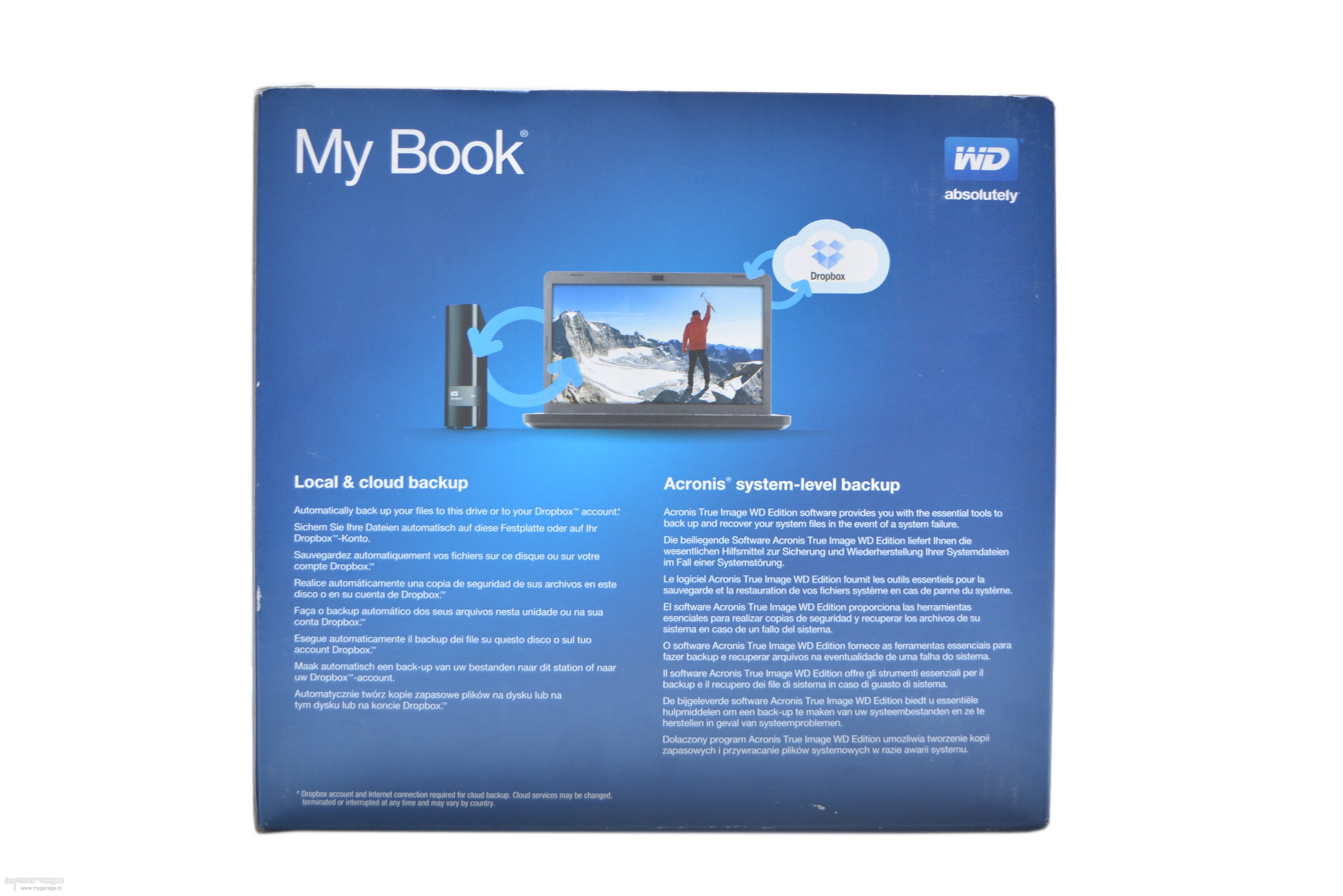 Review Hard disk extern WD My Book 3TB