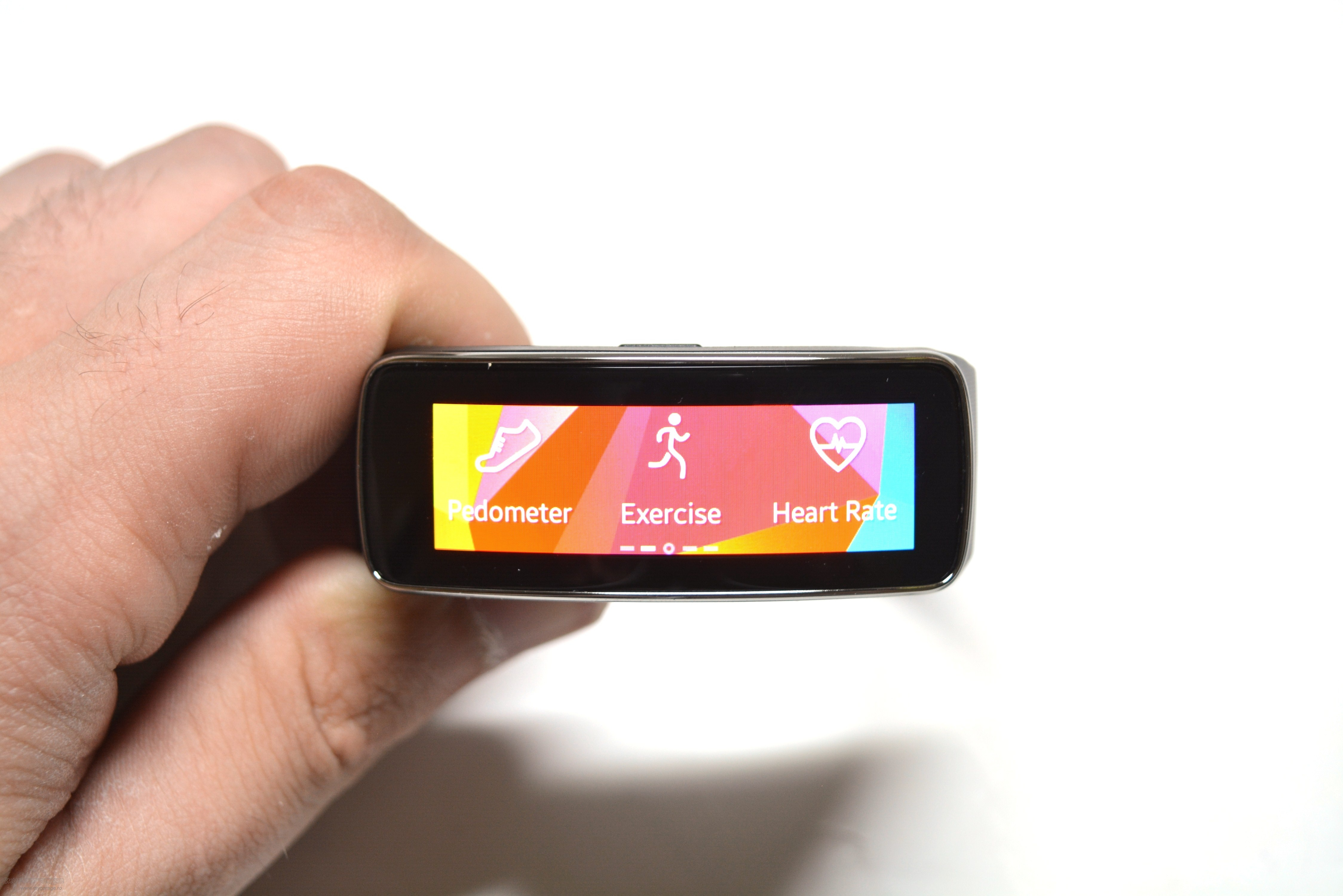 review smartwatch samsung galaxy gear fit black