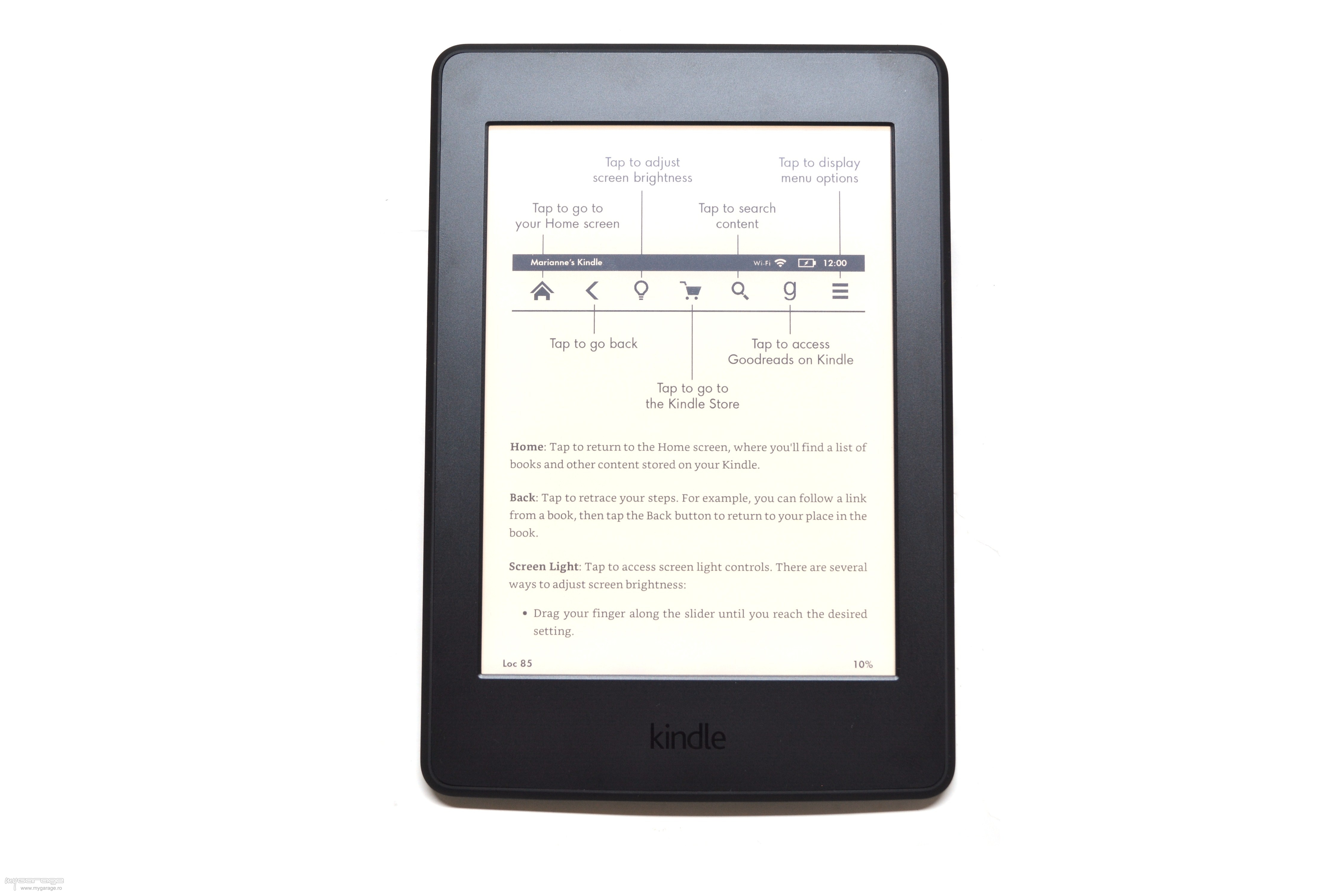my garage   review e book reader amazon kindle paperwhite