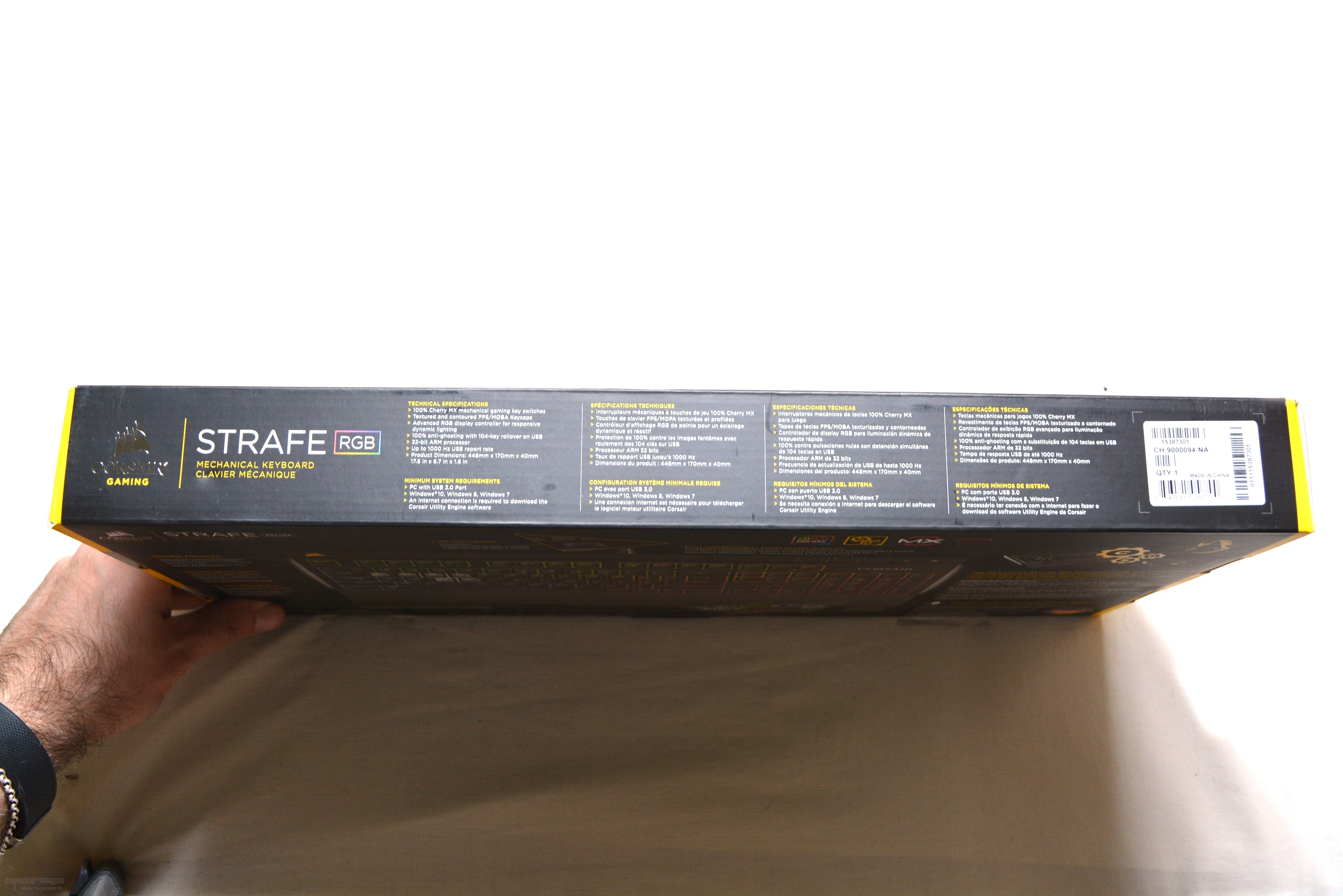 Review Tastatura Gaming Corsair Strafe Rgb Led Cherry Mx Brown Dsc 9700