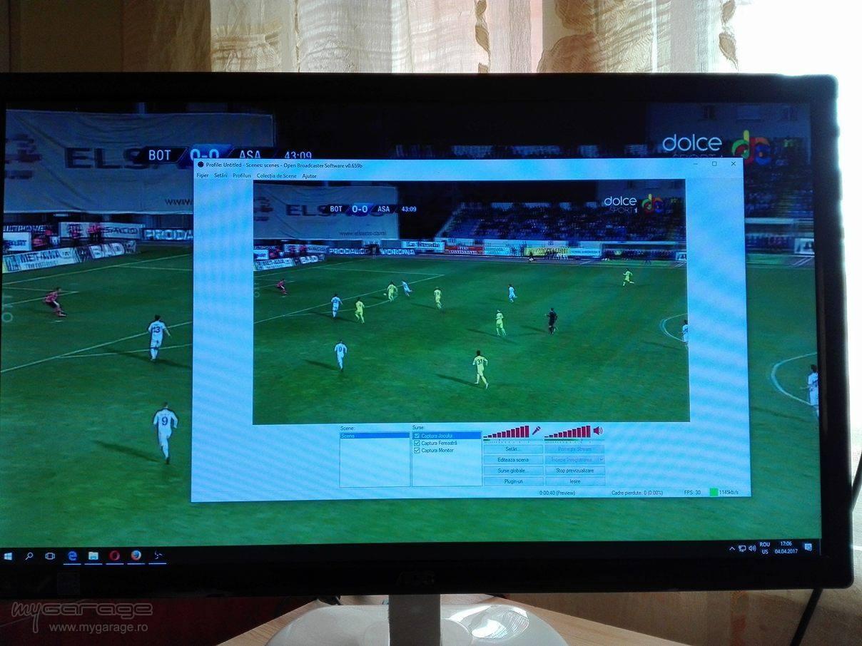 OBS Full Screen , Live Youtube ?