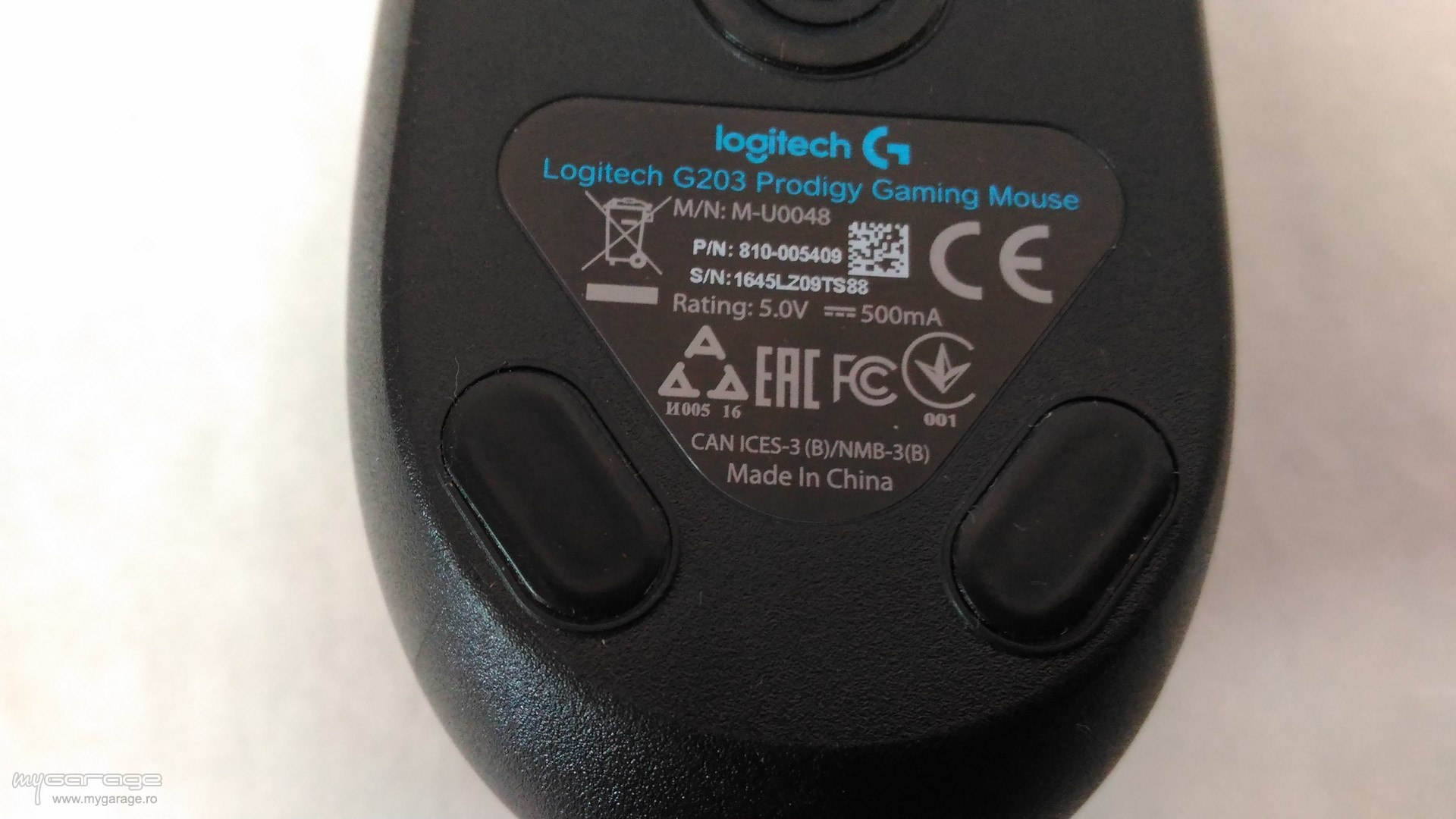 Review mouse gaming Logitech G203 Prodigy