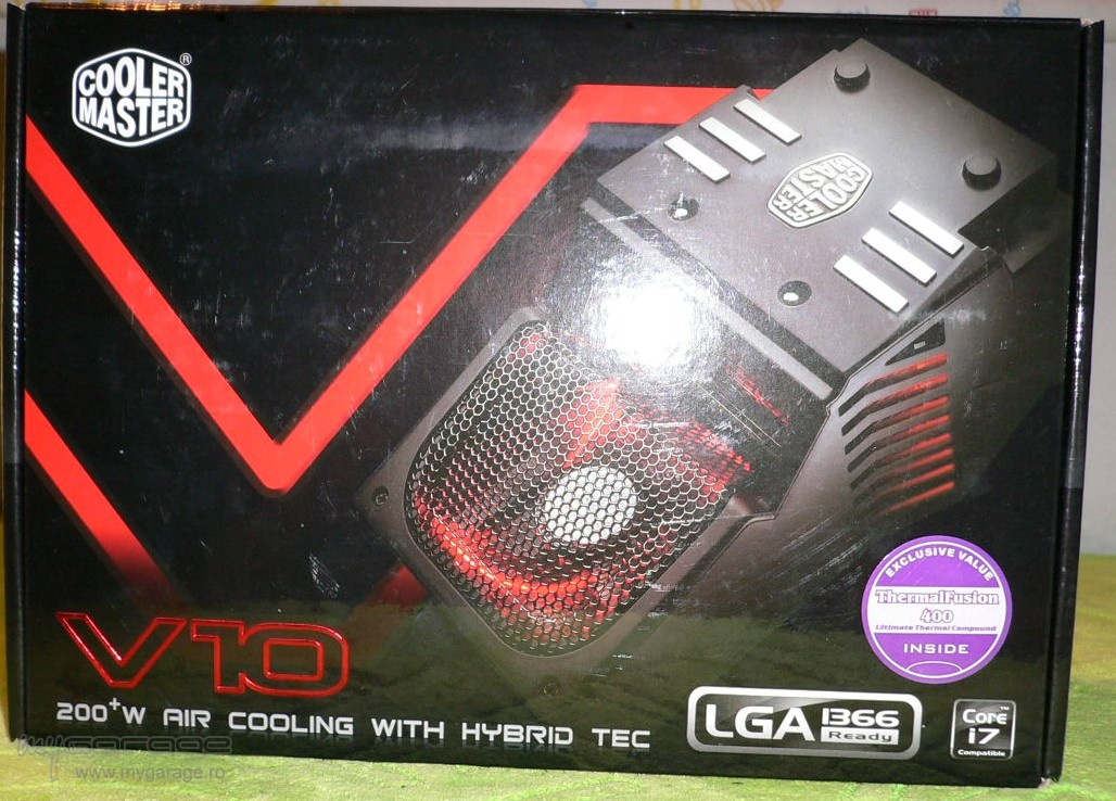 cooler master v10. Review Cooler Master V10 - My