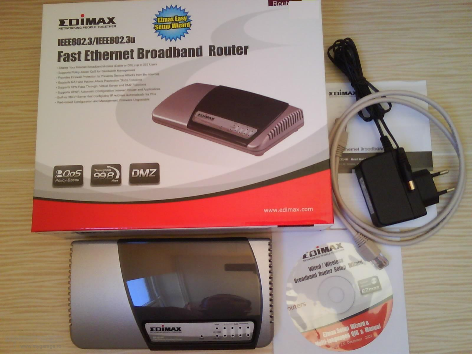 Driver for Edimax BR-6214K Router
